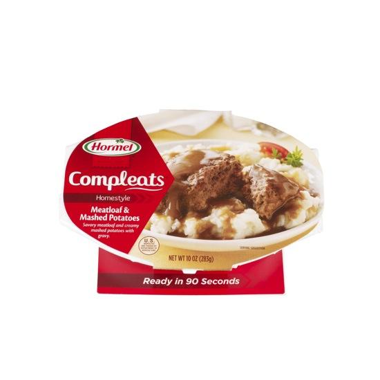 Compleats Meatloaf 6 9oz Hormel Foodservice