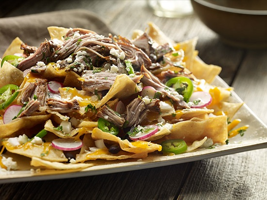 Pork and Radish Nachos