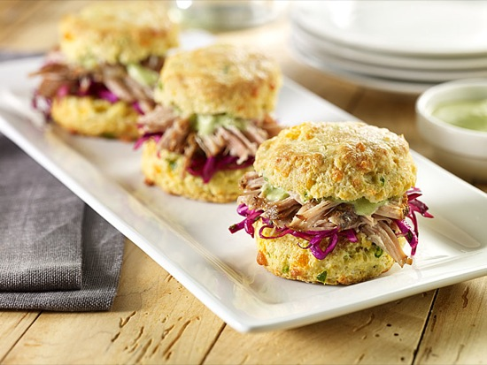 Carnitas and Slaw Sliders