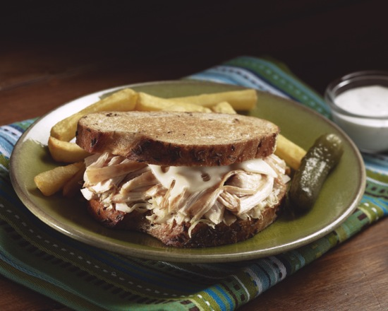 Chicken Ranch Reuben