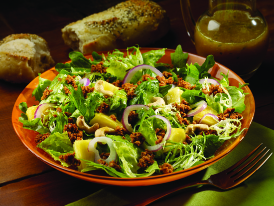 Tropical Chorizo Salad