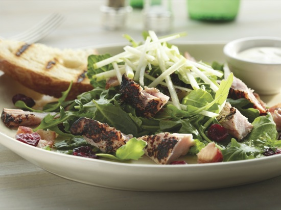 Ham and Bacon Buttermilk Salad