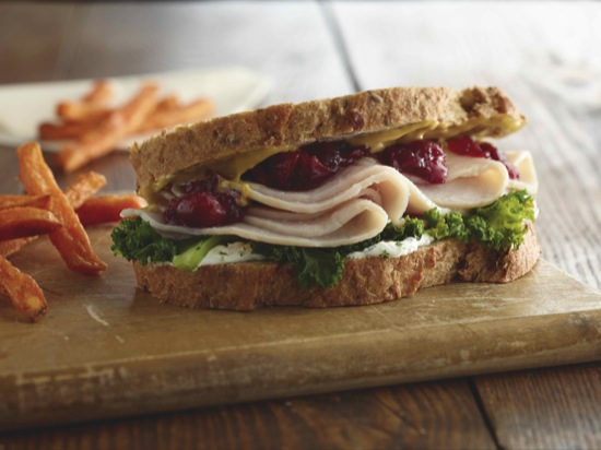 Thanksgiving Turkey Sandwich