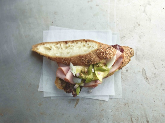 Ham and Apple Salad Sandwich
