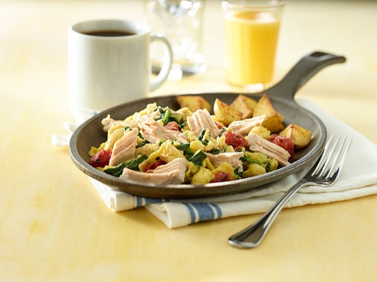 Turkey Breakfast Skillet