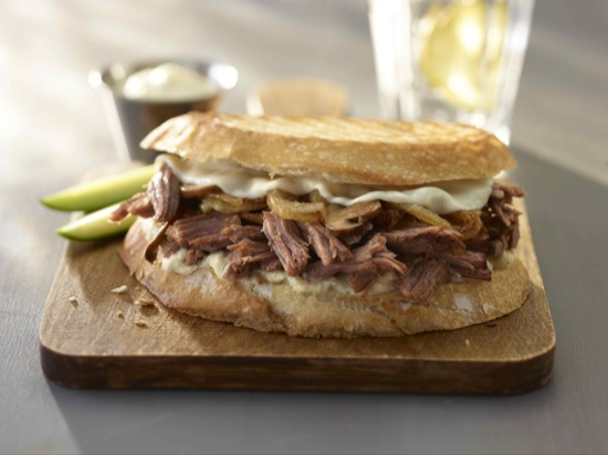 Pot Roast Patty Melt Sandwich