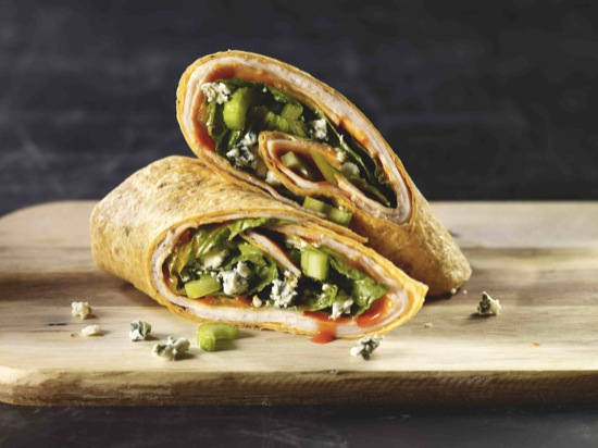 Turkey Buffalo Wrap