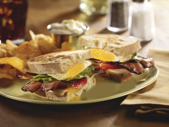 BLT with Fried Egg and Cheese