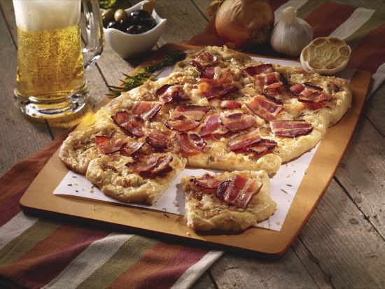 Pecanwood Bacon Flatbread