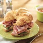 Ham Croissant Sandwich