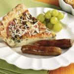 Breakfast Sausage and Quiche