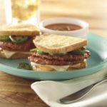 Chorizo Patty Grilled Cheese Sandwich