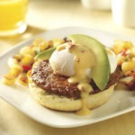 Chorizo Patty Mexican Eggs Benedict