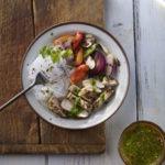 Thai Chicken with Cilantro Dipping Sauce