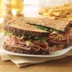 Cherrywood Ham, Gruyere and Onion Sandwich