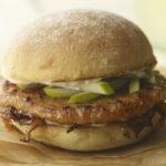 BBQ Pork and Apple Sandwich