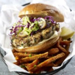 Miso Mayo Chicken Burger