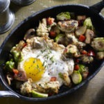 Mushroom and Brussles Sprouts Hash