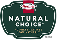 NATURAL CHOICE<sup></noscript>®</sup><br/>100% Natural** Meats