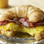 Bacon Croissant Breakfast Sandwich