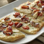 Shoulder Bacon and Chicken Savory Flatbread