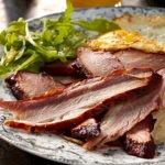 Pork Brisket + Grits