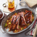 Barbeque Sauce-Glazed Ribs