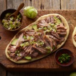 Chile-Braised Pork Huaraches