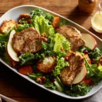 Toasted Goat Cheese Sirloin Salad