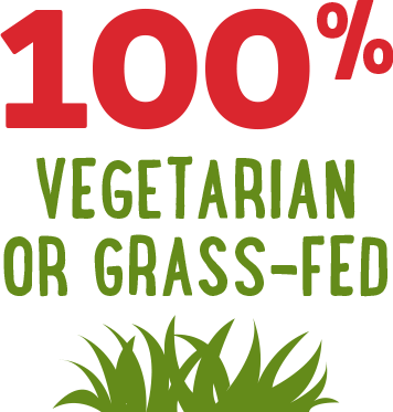 Benefit: 100% Vegetarian or Grass-FedqBenefit: 100% Vegetarian or Grass-Fed
