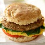 Chicken Sausage Breakfast Sandwich