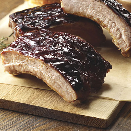 AUSTIN BLUES® BBQ LOIN BACK RIBS, 12 PC