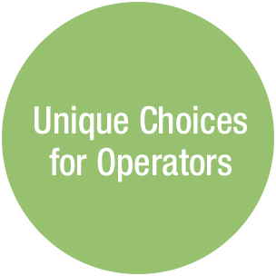 Unique Choices for Operators