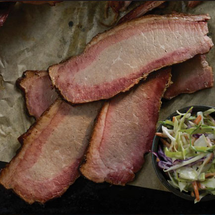 31033 Beef Brisket, Smoked - Split