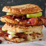Bacon Green Apple Grilled Panini