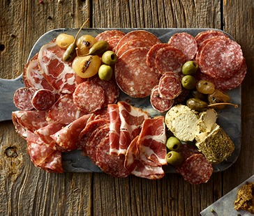 Traditional Italian Charcuterie Board