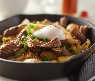 FIRE BRAISED™ Beef Short Ribs Breakfast Hash