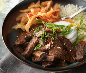 Short Rib Yum Yum Bowl
