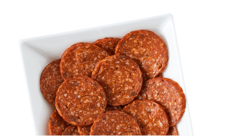 Pepperoni-Style Topping