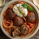 Plant-Based Meatball Bucatini