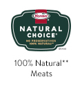 Natural Choice 100% Natural** Meats
