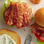 Grilled Chicken and Bacon Sandwich